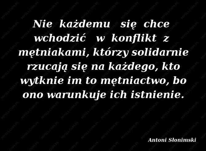 Antoni Słonimski Cytaty Sławnych Ludzi Myslicompl