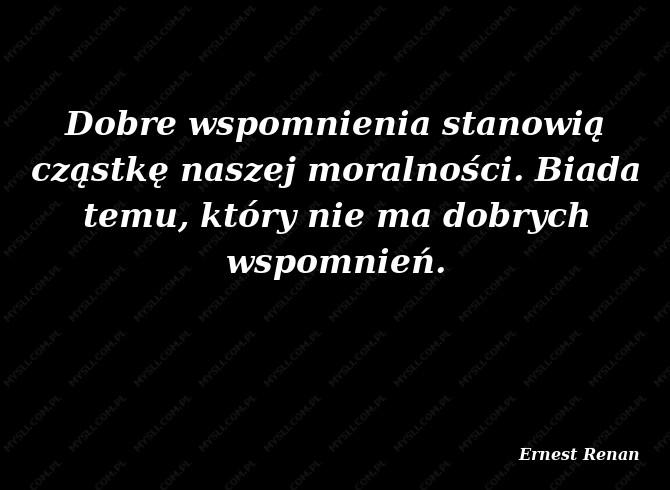 Ernest Renan Cytaty Sławnych Ludzi Myslicompl