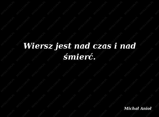 Michał Anioł Cytaty Sławnych Ludzi Myslicompl