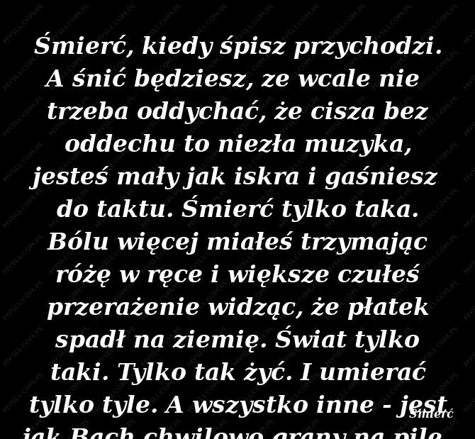 Wisława Szymborska Cytaty Sławnych Ludzi Myslicompl