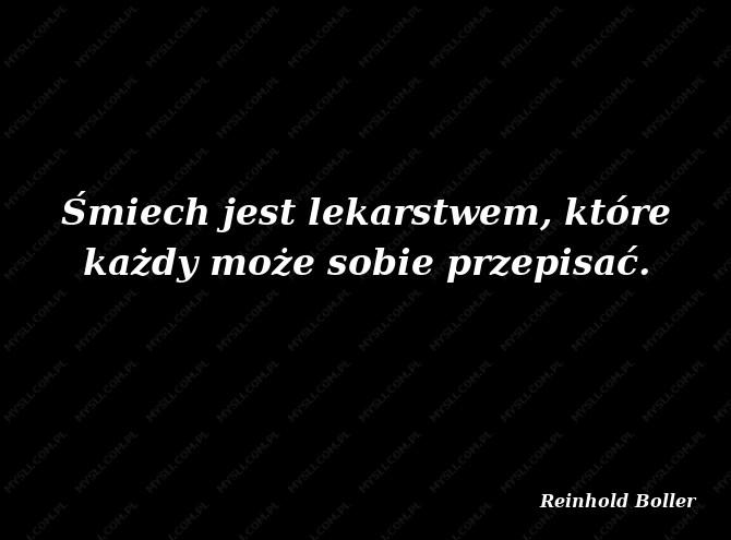 Reinhold Boller Cytaty Sławnych Ludzi Myslicompl